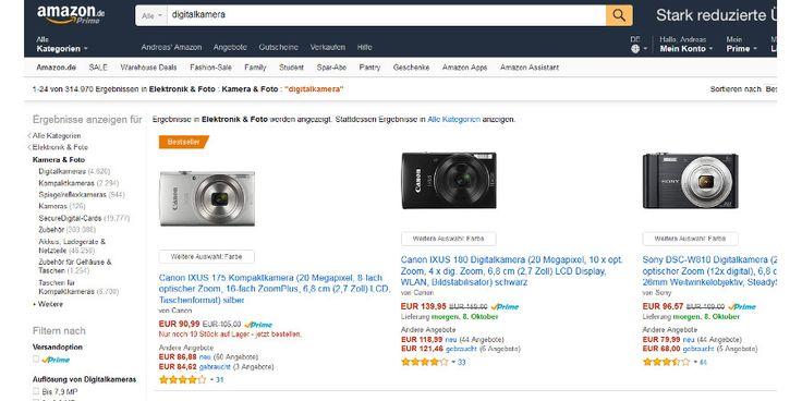 Jetzt lesen: Digitalkamera kaufen (KW43): Amazon-Bestseller im Schnell-Test - http://ift.tt/2eNTNGO #story