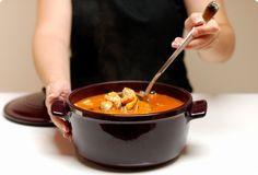 Sopa de pescado deliciosa y paso a paso, con Thermomix | Velocidad Cuchara