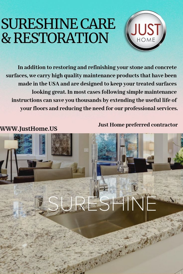 In Addition To Restoring And Refinishing Your Stone And Concrete
