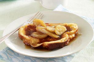 Make-Ahead Maple-Banana French Toast recipe