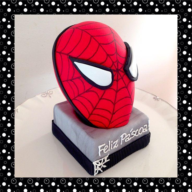 Spiderman's Sugarpaste Easter Egg