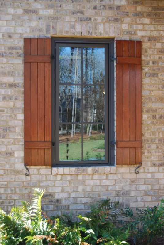 13 best outdoor window trim images on pinterest outdoor window trim window cornices and for Exterior window trim for brick home