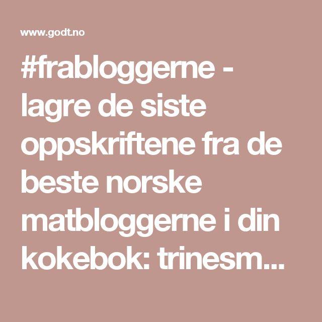 #frabloggerne - lagre de siste oppskriftene fra de beste norske matbloggerne i din kokebok: trinesmatblogg - WOK MED SPICY KJØTTDEIG & NUDLER - Godt.no - Finn noe godt å spise