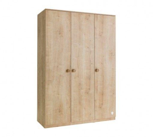 Mocha 3 ajtós Szekrény #gyerekbútor #bútor #desing #ifjúságibútor #cilekmagyarország #dekoráció #lakberendezés #termék #ágy #gyerekágy #mocha #szekrény