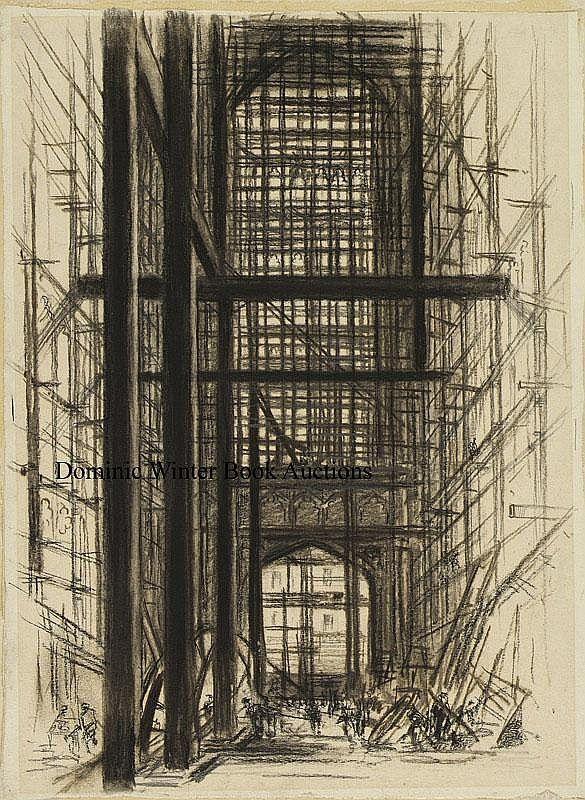 Sharland (Edward W., fl. 1911-25). Interior, Wills