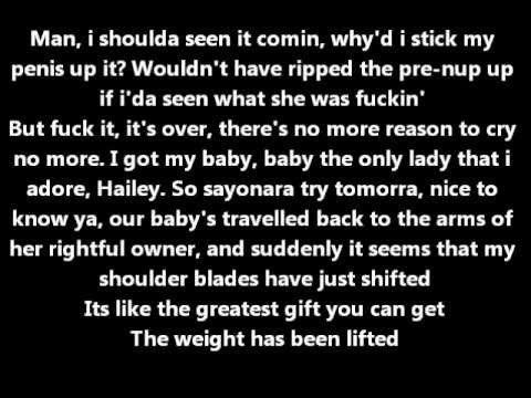 Eminem - Hailey's Song Lyrics [HQ sound]