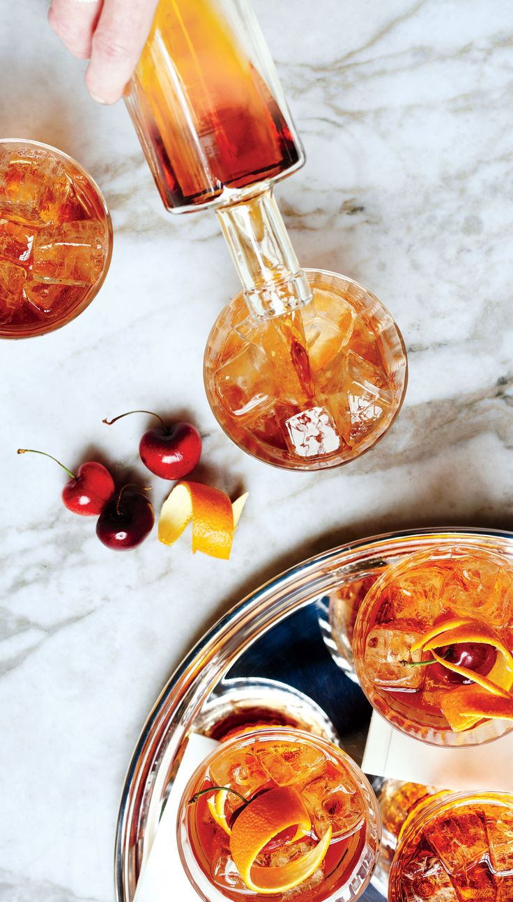 You're not a true cocktail lover until you know how to mix the perfect Manhattan.