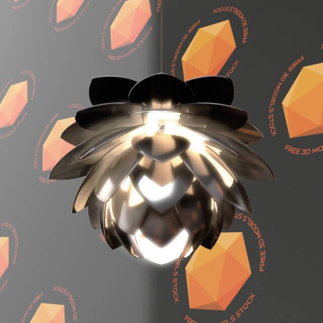 The silvia pendant lamp free 3d model, can be included on modern architectural residential and commercial projects like restaurants, offices, studios, and loft spaces among others.