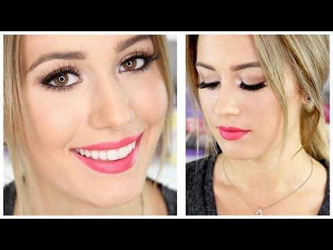 Neutral Eyes- Pink Lips | Karissa Pukas - YouTube