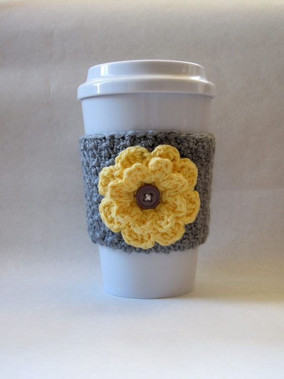 Hey, I found this really awesome Etsy listing at http://www.etsy.com/listing/129601878/crochet-flower-coffee-cup-cozy-gray-and