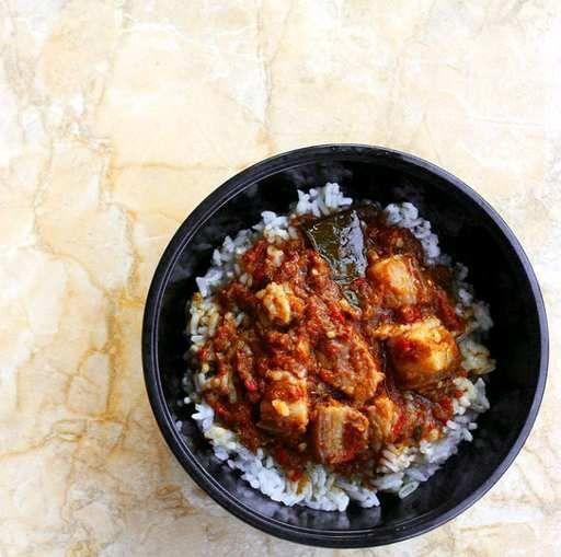 Nasi Babi Rica khas Sulawesi