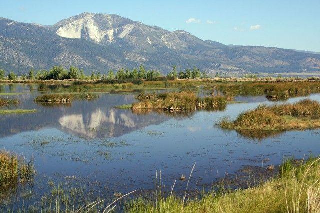 Carson City NV - Washoe Lake State Park: day use, hiking, boating, camping, equestrian facilities