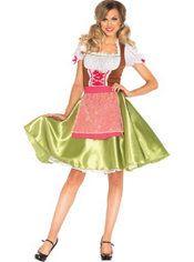 Adult Darling Greta Beer Maid Costume