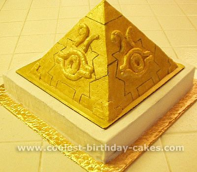 41 best images about pyramid cake on pinterest novelty for Ancient egyptian tomb decoration