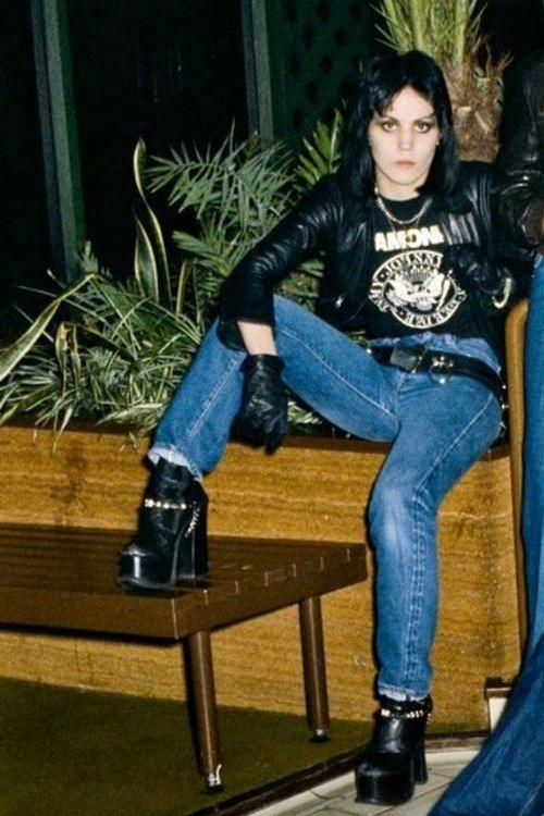 "The Runaways - Joan Jett, 1978 """