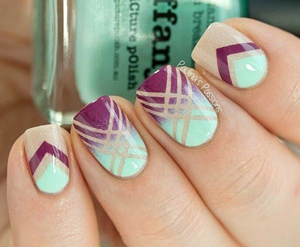 65 Winter Nail Art Ideas | Nail design, Glitter and Art ... - photo #14