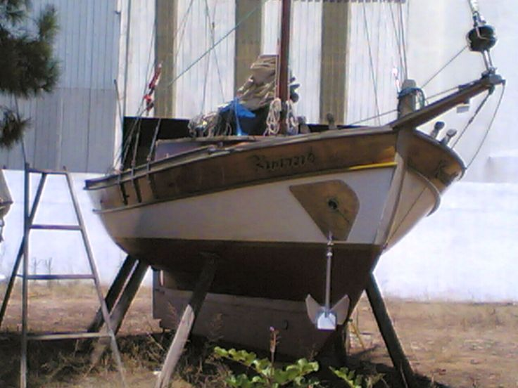 Turkish traditional sailing boat 'tirhandil'