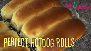 Perfect Hotdog Rolls. Soft and Flavorful Hotdog Buns – Easy Recipe by Whats4Chow.com