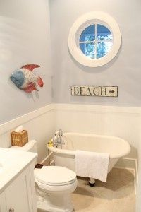 Childrens Coastal Bathroom coastal-decorating