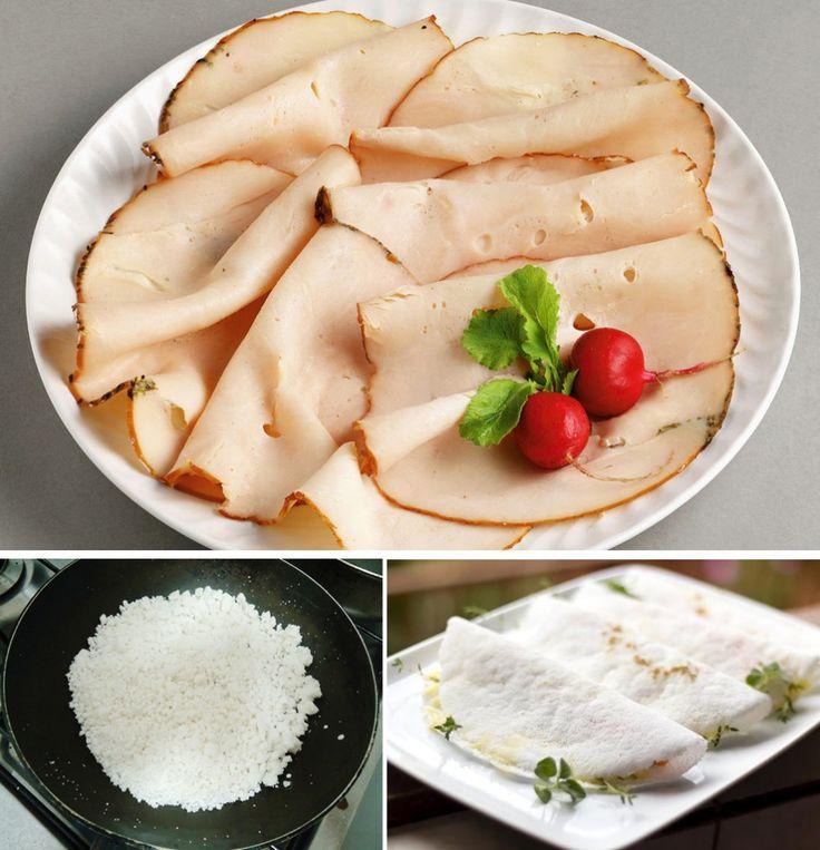 Receita Light da Semana: sanduíche de tapioca com peito de peru   Território Animale