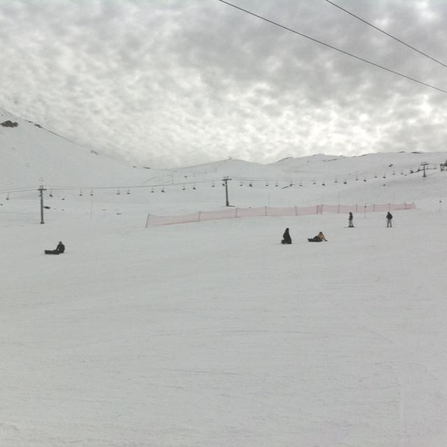 Pista Esqui - Vale Nevado