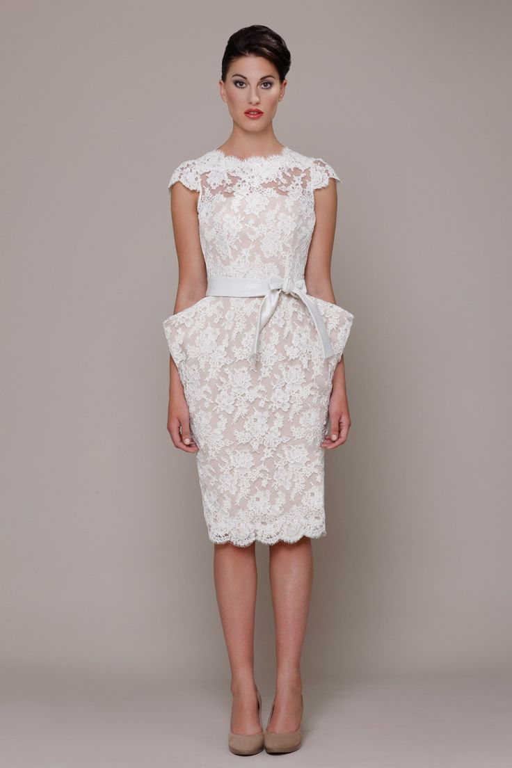 110 best Vestido corto novia images on Pinterest | Wedding ...