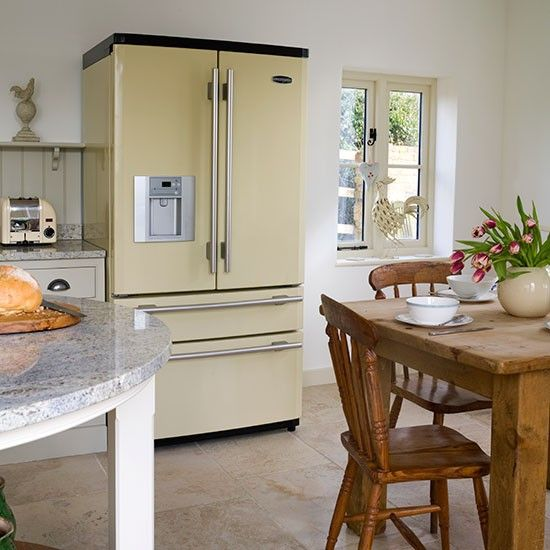 Country Kitchen Fridge: 38 Best Every Kitchen Needs A Fridge... Images On