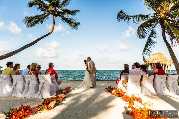 Victoria House Wedding | Ambergris Caye, Belize. #Belize #Weddings