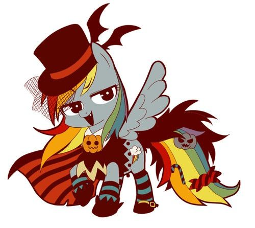 My Little Pony Halloween- Rainbow Dash