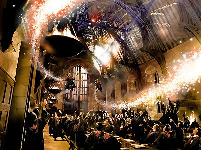 Harry Potter - Making a Great Exit - Stuart Craig - World-Wide-Art.com - #harrypotter #jkrowling #stuartcraig