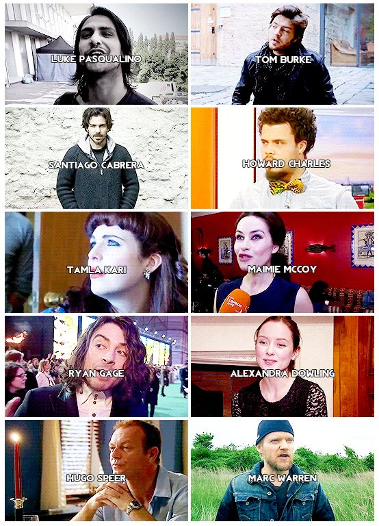 The Musketeers cast.