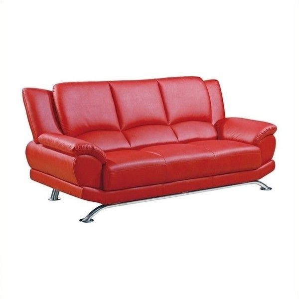 The 25+ Best Ideas About Red Leather Sofas On Pinterest | Red