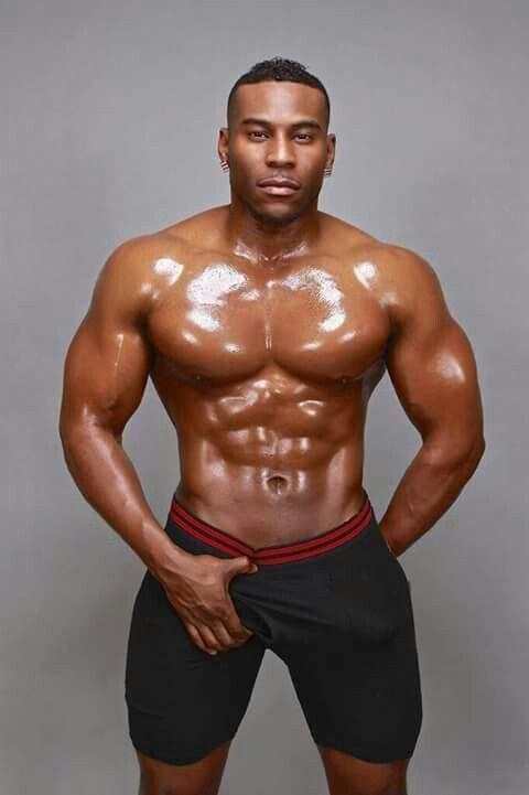 Huge black sexy males