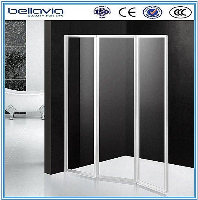 Hot Sale For Europe Market Folding Bath Shower Screens