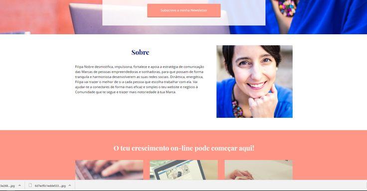 Filipa Nobre criou o Social Spot, um projeto de apoio à gestão e comunicação nas redes sociais. A Bless apoiou com sessões de desenvolvimento estratégico de marca, construção de website e fotografia.