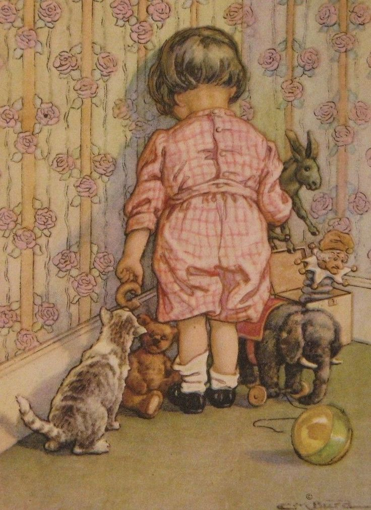 1920 C.M. Burd illustration | Misery Loves Company