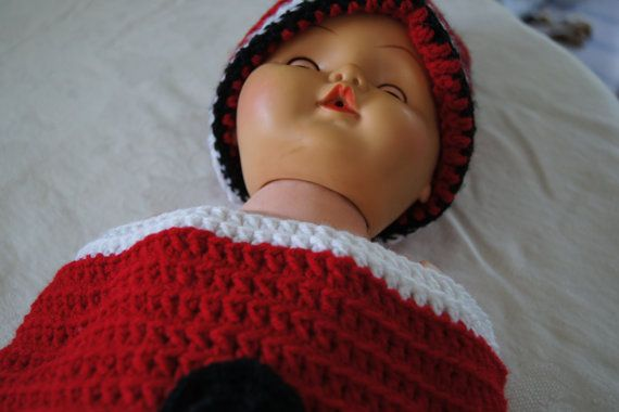 This is for a baby newborn to twelve months it is by Henryscrafts, $50.00
