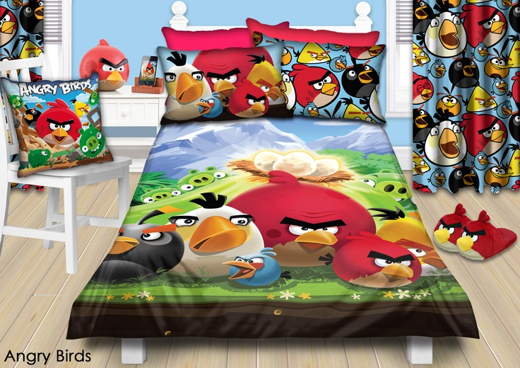Colourful Angry Birds Bedroom Http Www Charactergroup