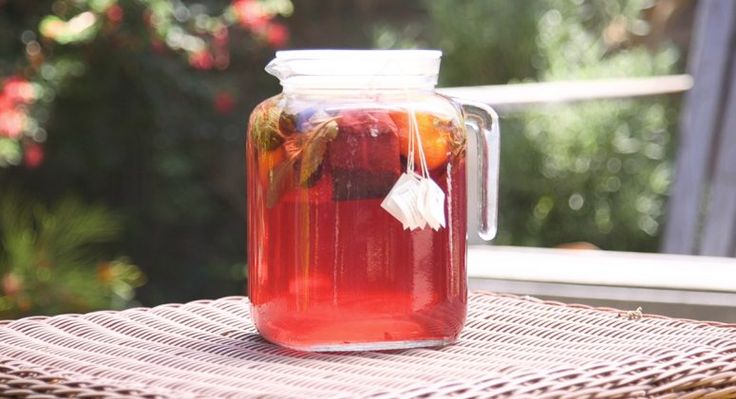 Hibiscus Sun Tea Recipe
