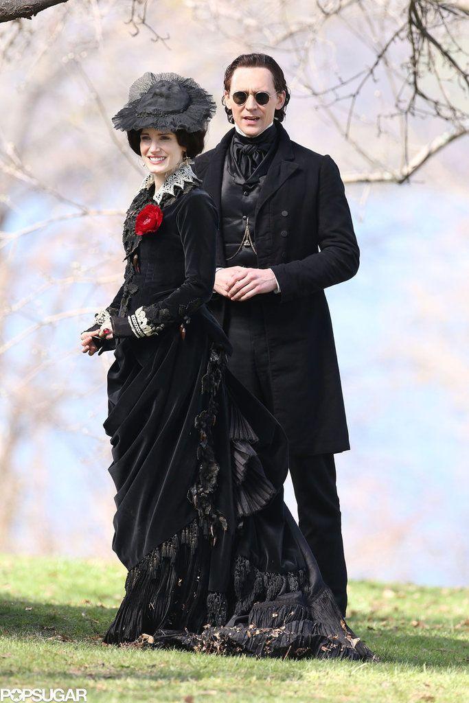 "Tom Hiddleston and Jessica Chastain ""Crimson Peak"""