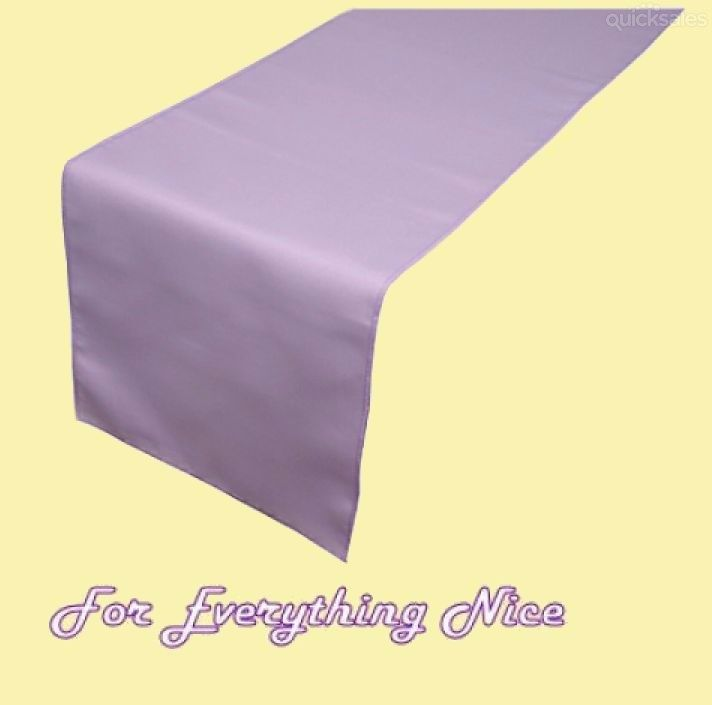 Lavender Polyester Wedding Table Runners Decorations x 5 For Hire by J7339 - $30.00