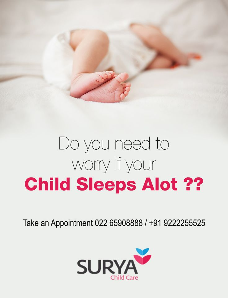 Do You Need To Worry If Your Child Sleeps Alot ??