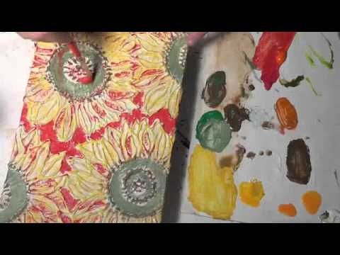 Cereal Box Canvas Part 3 - YouTube