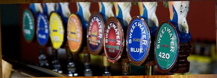 """I love Sweetwater brewery. Their motto is """"don't float the mainstream."""" Some of my favorites include the always classic 420 Extra Pale Ale, Blue (Blueberry), Happy Ending, Road Trip, Motor Boat, and pretty much any of the brews from their Dank Tank series."""