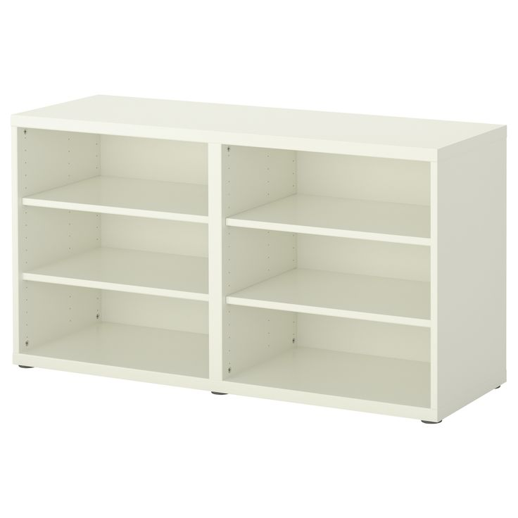 BESTÅ Shelf unit/height extension unit - white - IKEA $70- put two together as sofa table/storage?