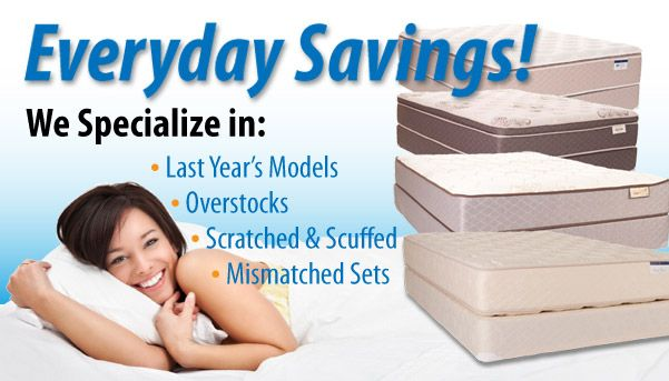 Did You Know That Savvy S Name Brand Mattresses At 60 90 Off
