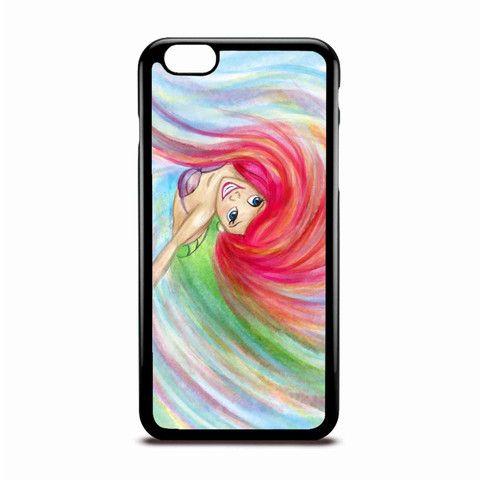 Ariel Mermaid Twist Paint Disney Case Design For IPhone