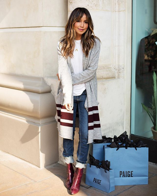 Did some holiday shopping over at @Paige!  | more photos and holiday gift guide on the blog today sincerelyjules.com #liveinit