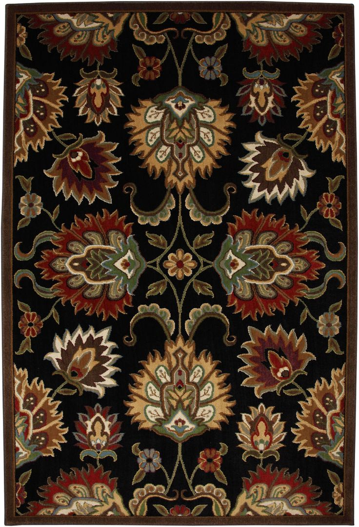 8 x 10 $300.00 Open, flowing transitional designs come to life in this rug. The traditional floral motif has been recreated oversized to appeal to a modern design sense. Unsurpassed in quality and style without sacrificing affordability, Mohawk Home's woven area...