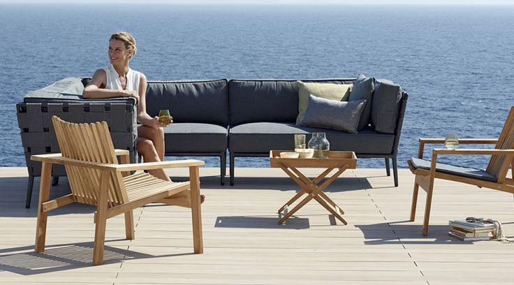 Mejores 21 imágenes de Cane-line en Pinterest | Muebles de jardín ...
